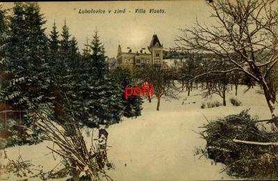 Luhačovice v zimě - Villa Vlasta /276036/