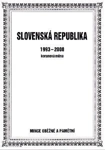 Album na mince Slovenské republiky - korunová měna 1993-2008