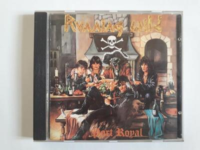 RUNNING WILD - Port Royal - PRESS 1989 USA - RARE