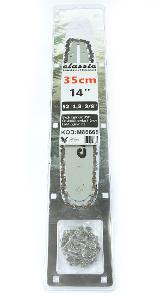 """Vodíci lišta na pilu + 2x řetěz 14''/35cm 3/8 """"1,3mm M86665"""