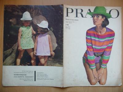 Německý časopis - PRAMO - PRAKTISCHE MODE - číslo 5. z roku 1968