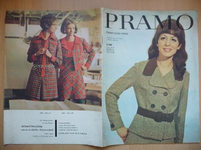 Německý časopis - PRAMO - PRAKTISCHE MODE - číslo 8. z roku 1969