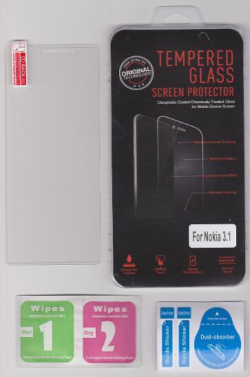 Ochranné tvrzené sklo pro Nokia 3.1 - Ochranné fólie a skla
