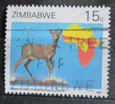 Zimbabwe 1987 Chocholatka schovávaná Mi# 368 0924