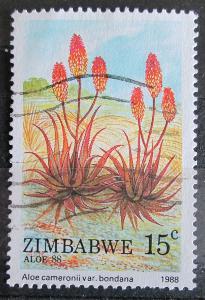Zimbabwe 1988 Aloe cameronii Mi# 384 0924