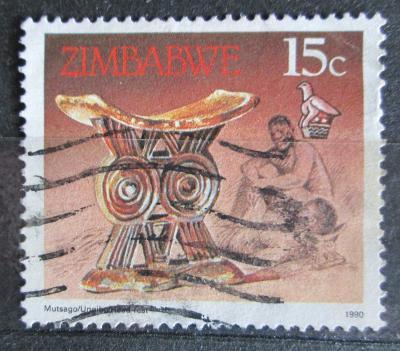 Zimbabwe 1990 Opěrka hlavy Mi# 424 0926