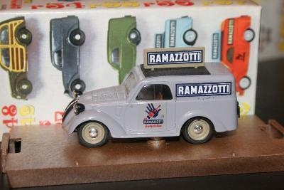 Brumm R52 1:43 Fiat 500 A Ramazzotti