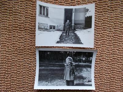Protektorát momentka Kolín březen 1945 vila foto Krátký