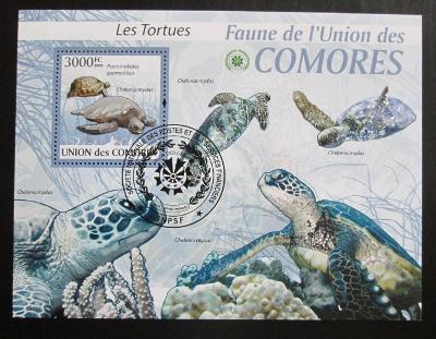 Komory 2009 Želvy Mi# Block 512 Kat 15€ 0677