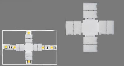 Spojka konektor + pro jednobarevný LED pásek 8 mm