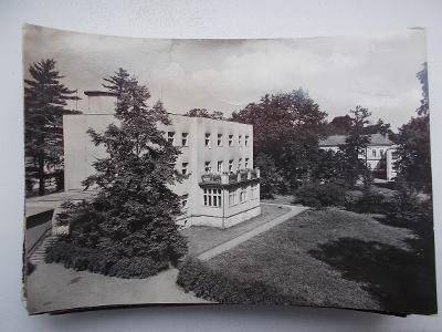 Karviná Darkov lázně  hlavní budova sanatorium Vlasta jód 1958  Toman