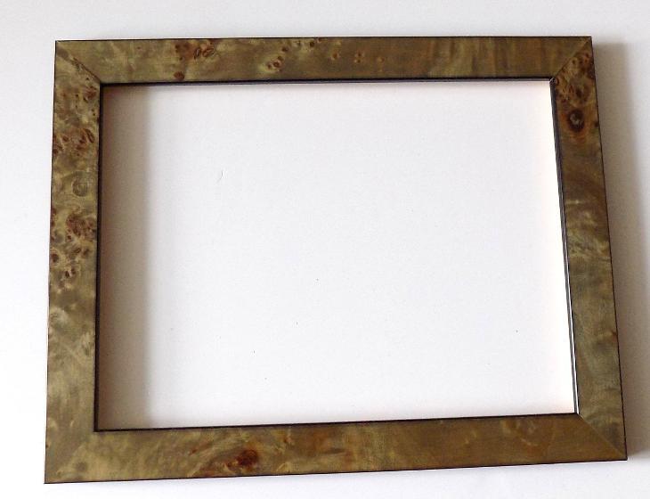 INTARZOVANÝ NOVÝ RÁM - vnitřní rozměr 18 x 24 cm č.30 - Umění