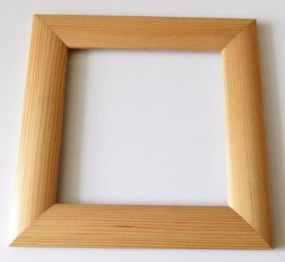 PĚKNÝ NOVÝ RÁM - vnitřní rozměr 20 x 20 cm č.35