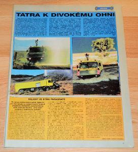 TATRA 815 8x8 WILDFIRE THT SPECIÁL - ČASOPIS SM S ČLÁNKEM