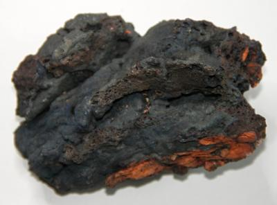 Vypálený jíl černý, Dobrčice, 375 g, #1632