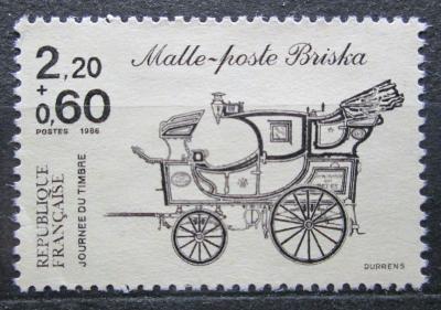 Francie 1986 Poštovní dostavník Mi# 2542 0035