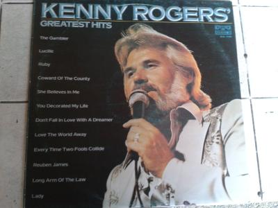 LP KENNY ROGERS - GREATEST HITS