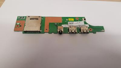 USB + AUDIO +ČTEČKA z Lenovo ThinkPad Edge 01972NG