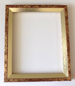 PĚKNÝ NOVÝ RÁM - vnitřní rozměr 22 x 27 cm č.107