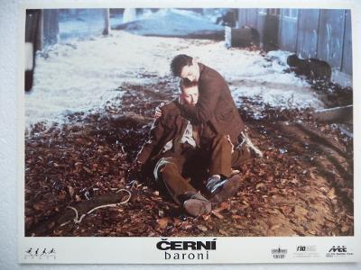 Filmový plakátek - ČERNÍ BARONI - Český film z roku 1992
