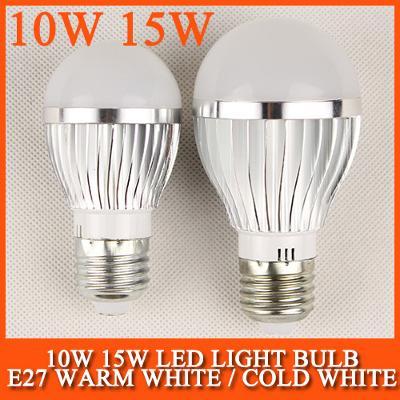 Hliník LED žárovka E27 30x5730 15W 220V teplá bílá
