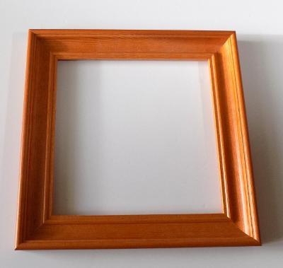 PĚKNÝ NOVÝ RÁM - vnitřní rozměr 19,5 x 19,5 cm č.109