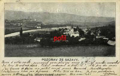 Pozdrav ze Sázavy /285791/