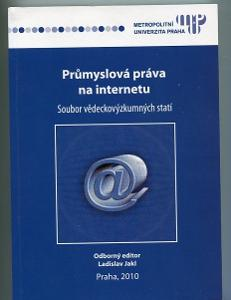 Průmyslová práva na internetu - Ladislav Jakl - 2010