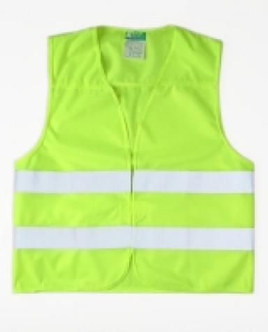 Reflexní vesta - barva žlutá bezpečné na silnici 0075