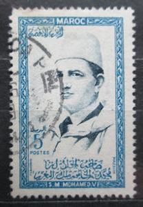 Maroko 1956 Sultan Mohammed V Mi# 408 0085