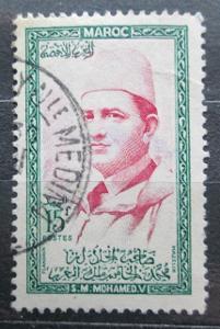 Maroko 1956 Sultan Mohammed V Mi# 410 0085