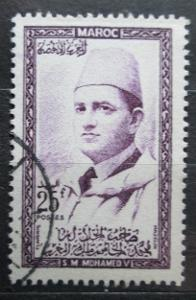 Maroko 1957 Sultan Mohammed V Mi# 411 0085
