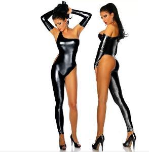Sexy wet-look body / catsuit (Uni: S - L) 093398