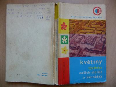 Květiny - výzdoba našich sídlišť a zahrádek - František Suchý SZN 1962