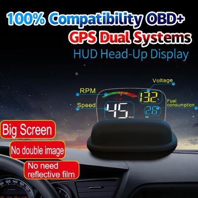 OBD2 GPS HUD Display Head-Up  C800 HUD Head-Up displej