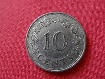 10 cents 1972 - MALTA