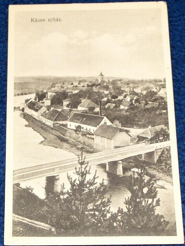 Kácov nad Sázavou 1922 - Pohlednice