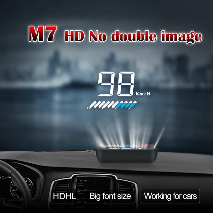 Head-Up M7 GPS OBD2 HUD display - Náhradní díly a příslušenství pro osobní vozidla