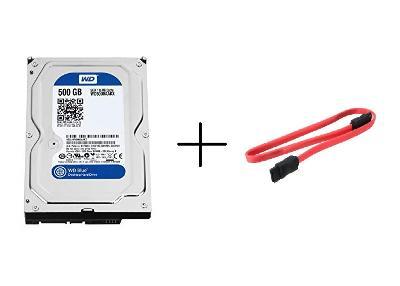 Pevné disky WD WESTERN DIGITAL do PC - SATA 500 GB 3.5' + kabel