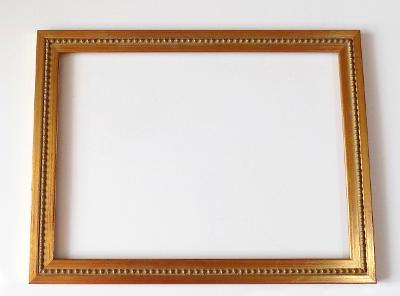 PĚKNÝ NOVÝ RÁM - vnitřní rozměr 24,5 x 33,8 cm č.104
