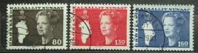 Grónsko 1980 Královna Margrethe II. Mi# 120-22 0093