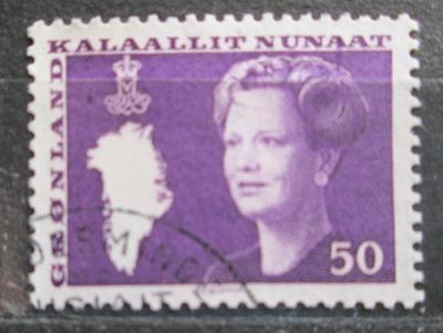 Grónsko 1981 Královna Margrethe II. Mi# 126 0094