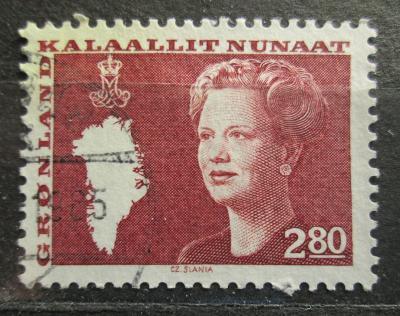 Grónsko 1985 Královna Markéta II. Mi# 155 0100