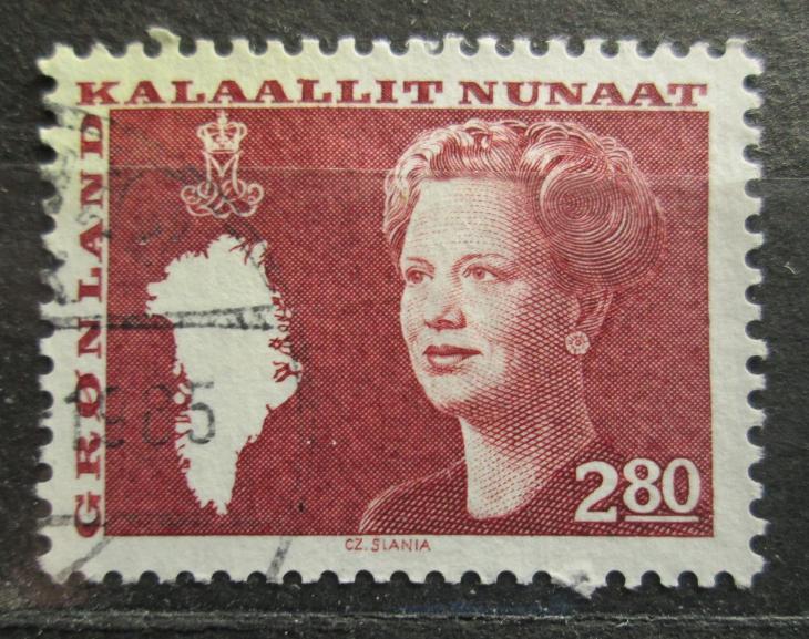 Grónsko 1985 Královna Markéta II. Mi# 155 0100 - Filatelie