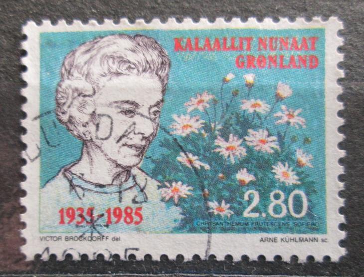 Grónsko 1985 Královna Ingrid Mi# 159 0100 - Filatelie