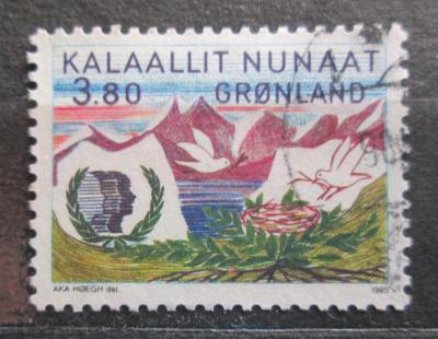 Grónsko 1985 Rok mládeže Mi# 160 0100