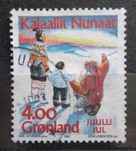 Grónsko 1992 Vánoce Mi# 229 0104