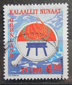 Grónsko 1993 Mezinárodní rok původních obyvatel Mi# 230 0104