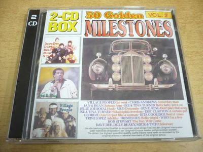 2 CD-SET: 50 Golden Milestones Vol.2