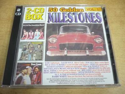 2 CD-SET: 50 Golden Milestones Vol.1